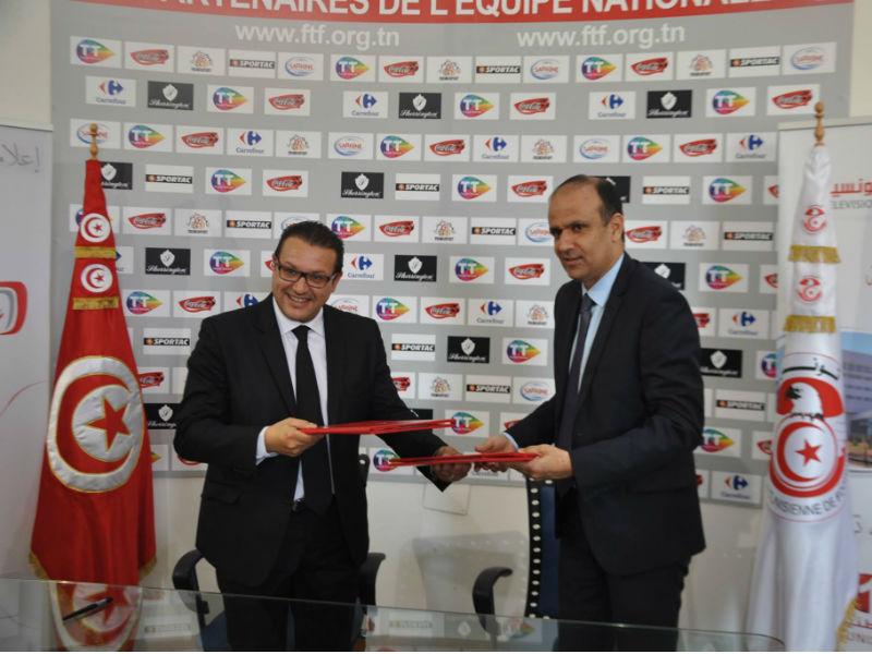 توقيع اتفاقية اقتناء حقوق بث الرابطة الوطنية لكرة القدم